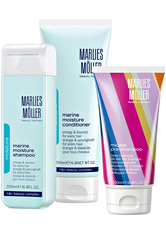 Marlies Möller Beauty Haircare Weihnachtssets Geschenkset Micelle Pre-Shampoo 200 ml + Marine Moisture Conditioner 200 ml + Marine Moisture Shampoo 200 ml 1 Stk.
