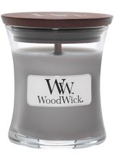 Woodwick Suede & Sandalwood Duftkerze 85 gr
