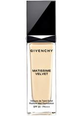 Givenchy Make-up TEINT MAKE-UP Matissime Velvet Fluid Foundation Nr. 00 Mat Ivory 30 ml