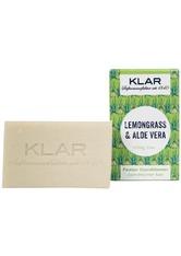 Klar Seifen Produkte Fester Conditioner - Lemongrass & Aloe Vera 100g Haarspülung 100.0 g