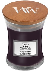 WoodWick Velvet Tobacco Hourglass Duftkerze  85 g