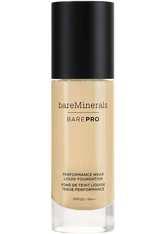 bareMinerals BAREPRO 24-Hour Full Coverage Liquid Foundation SPF20 30ml 14 Silk (Medium, Cool/Neutral)