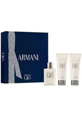 Aktion - Giorgio Armani Acqua di Giò Homme Geschenkset (EdT50/SG75/ASB75) Duftset