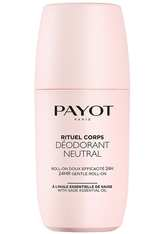 PAYOT Rituel Corps Déodorant Neutral 24HR Deodorant Roll-On  75 ml