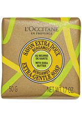 Aktion - L'Occitane Shea Bergamotte Ultra-Sanfte Seife 50 g Stückseife