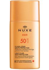 Nuxe Sun Sonnenfluid Gesicht LSF 50 50 ml Sonnenlotion