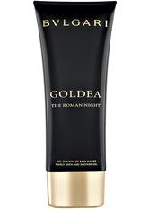 BVLGARI - Bvlgari Goldea The Roman Night Bath & Shower Gel 100 ml Duschgel - DUSCHPFLEGE