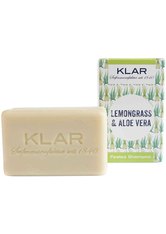 Klar Seifen Produkte Festes Shampoo Lemongrass + Aloe Vera Haarshampoo 100.0 g