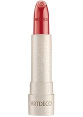 ARTDECO Natural Cream Lipstick Green Couture Lippenstift 4 ml red tulip
