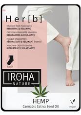 Iroha Repairing & Relaxing Socks Hemp