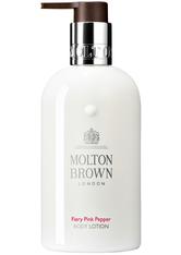 Molton Brown Body Essentials Fiery Pink Pepperpod Nourishing Body Lotion Bodylotion 300.0 ml