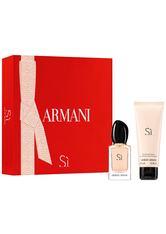 Giorgio Armani Armani Sì Eau de Parfum Geschenkset 2 Stück