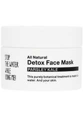 STOP THE WATER WHILE USING ME! Pflege All Natural Parsley Kale Detox Face Mask Maske 50.0 ml