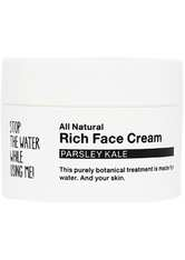 STOP THE WATER WHILE USING ME! Pflege All Natural Parsley Kale Rich Face Cream Gesichtscreme 50.0 ml