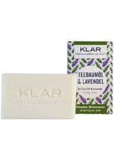 Klar's Festes Shampoo Teebaumöl & Lavendel 100 g