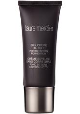 Laura Mercier Silk Crème Oil Free Photo Edition Foundation 30ml 4W1 Chai (Medium, Warm)