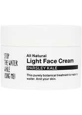 STOP THE WATER WHILE USING ME! Pflege All Natural Parsley Kale Light Face Cream Gesichtscreme 50.0 ml