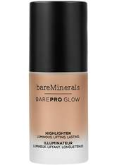 BAREMINERALS - bareMinerals Gesichts-Make-up Highlighter barePro Glow Free 14 ml - Highlighter