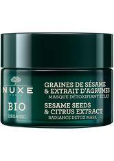 Nuxe Produkte Sesame Seeds & Citrus Extract Radiance Detox Mask Reinigungsmaske 50.0 ml