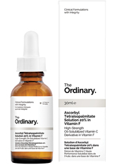 THE ORDINARY - The Ordinary Vitamin C Ascorbyl Tetraisopalmitate Solution 20% in Vitamin F (30ml) - TAGESPFLEGE