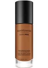 bareMinerals BarePro Performance Wear SPF 20 Flüssige Foundation 30 ml Nr. 24,5 - Maple