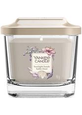 YANKEE CANDLE - Yankee Candle Quadrat Kerzen Sunlight Sands 96 g - Duftkerzen