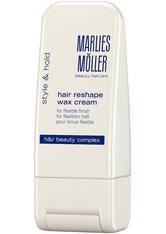 MARLIES MÖLLER - Marlies Möller Style & Hold Marlies Möller Style & Hold Hair Reshape Wax Cream Haarwachs 100.0 ml - Pomade & Wachs