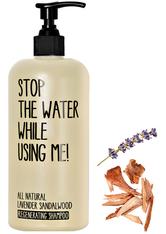 STOP THE WATER WHILE USING ME! Haarpflege Lavender Sandalwood Regeneration Shampoo Haarshampoo 200.0 ml