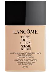 LANCÔME - Lancôme Teint Idole Ultra Wear Foundation Nude 40ml 011 Beige Cristallin - FOUNDATION