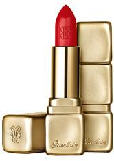 GUERLAIN Make-up Lippen KissKiss Matte Lipstick Nr. M347 Zesty Orange 3,50 g