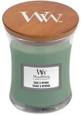 WoodWick Sage&Myrrh Hourglass Duftkerze  85 g