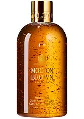 MOLTON BROWN - MOLTON BROWN Mesmerising Oudh Accord & Gold Bath & Shower Gel - DUSCHEN & BADEN