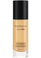 bareMinerals BAREPRO 24-Hour Full Coverage Liquid Foundation SPF20 30ml 18 Pecan (Tan, Neutral)