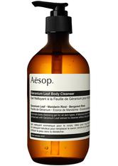 Aesop Körper Geranium Leaf Body Cleanser Duschgel 500.0 ml