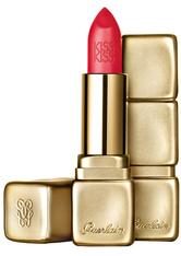 GUERLAIN Make-up Lippen KissKiss Matte Lipstick Nr. M348 Hot Coral 3,50 g