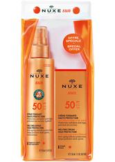 NUXE - Nuxe Produkte Spray Fondant Haute Protection SPF 50 150 ml + Crème Fondante Haute Protection SPF 50 1 Stk. Sonnencreme 1.0 st - SONNENCREME