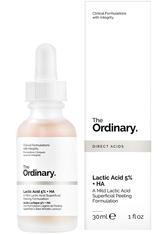 THE ORDINARY - The Ordinary Lactic Acid 5 % + HA 2 % Superficial Peeling Formulation 30 ml - Serum