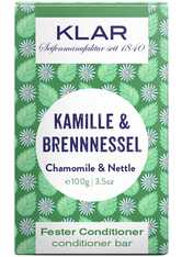 Klar Seifen Produkte Fester Conditioner - Kamille & Brennnessel 100g Haarspülung 100.0 g