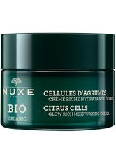 Nuxe Bio Reichhaltige Feuchtigkeitscreme für neue Leuchtkraft 50 ml Gesichtscreme