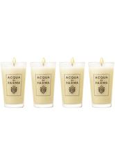 Acqua di Parma Accessoires Kerzen Glaskerze Colonia Geschenkset 4 x 65 g