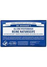 Dr. Bronner's Seife Pfefferminze - All-One Reine Naturseife 140g Stückseife 140.0 g