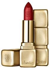 GUERLAIN Make-up Lippen KissKiss Matte Lipstick Nr. M330 Spicy Burgundy 3,50 g