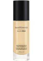 bareMinerals BAREPRO 24-Hour Full Coverage Liquid Foundation SPF20 30ml 13 Golden Nude (Light/Medium, Neutral Warm)