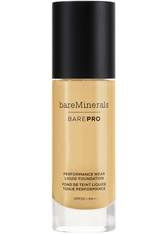 bareMinerals BAREPRO 24-Hour Full Coverage Liquid Foundation SPF20 30ml 16 Sandstone (Medium, Neutral/Warm)