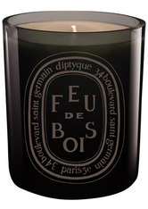 DIPTYQUE - Diptyque Feu de Bois Colored candle Grey 300 g - PARFUM