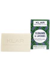 Klar Seifen Produkte Fester Conditioner - Teebaumöl & Lavendel 100g Haarspülung 100.0 g