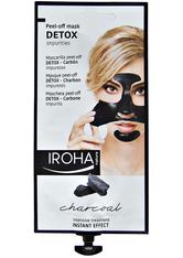 Iroha Gesichts-Vliesmasken Peel-Off Mask DETOX (1Stück)