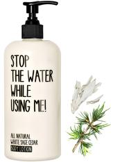 STOP THE WATER WHILE USING ME! Pflege White Sage Cedar Body Lotion Bodylotion 200.0 ml