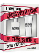 ZADIG & VOLTAIRE - Zadig&Voltaire This is Her Eau de Parfum Spray 30 ml + Body Lotion 75 ml 1 Stk. Duftset 1.0 st - Duftsets
