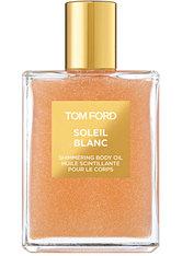 Tom Ford Soleil Neige Soleil Blanc Shimmering Body Oil (Limited Rose Gold Edition) Körperöl 100.0 ml